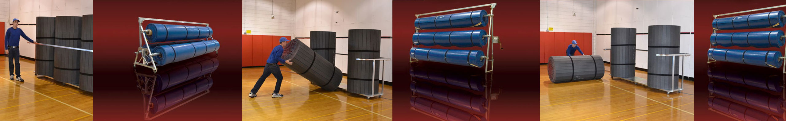 Mat Baskets and Mat Racks by TW Promotions, Inc.