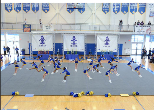 Cheerleader mats